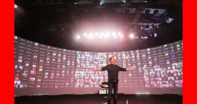 दुनिया के पहले आभासी दो दिन दुनिया भर में 4000 प्रतिभागियों के साथ लाइव इवेंट!