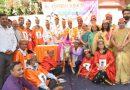 'संस्कार भारती' के 'महामूर्ख सम्मेलन' में हँसगुल्लों और काँव-काँव ने किया लोटपोट!