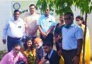 रोटरी क्लब ऑफ आगरा निओ ने कुबेरपुर में किया पौधारोपण
