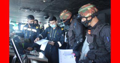 आईएनएस तबर ने फ्रांसीसी नौसेना के साथ समुद्री साझेदारी अभ्यास पूरा किया