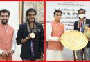 ओलंपिक पदक विजेता पी.वी. सिंधु का स्वदेश वापसी पर भव्य स्वागत!
