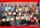 'सेवा आगरा' और 'महाकाली धर्मार्थ ट्रस्ट' ने 200 बेटियों को दिया महामेधा सम्मान