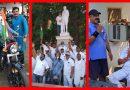 गाँधी जयंती पर बापू का किया श्रद्धापूर्वक स्मरण, गूँजे देशभक्ति से परिपूर्ण तराने